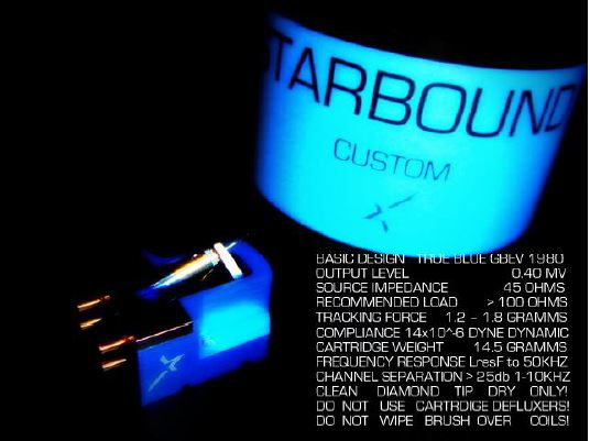 TARBOUND 唱頭